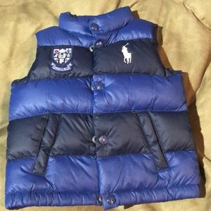 Toddler boy Polo Vest - worn once.